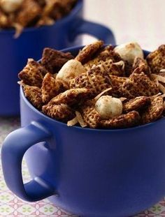 Mexican Hot Chocolate Chex Party Mix ~ Savor the flavors of Mexican Hot Chocolate any time of year in this dynamite party mix.