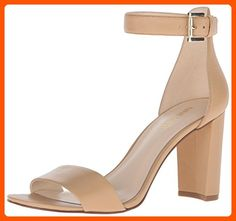 Nine West Women's Nora Leather Dress Sandal, Light Natural Leather, 10.5 M US - All about women (*Amazon Partner-Link)