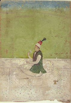 A Prince of Persia, Mughal India, 18th-19th century   Harvard Art Museums
