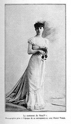Portrait of Anna de Noailles, 1900's