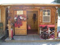 My desert tack room!