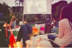 Transforming a normal house yard into a bonding area with neighbourhood for weekend activity or good movie night.