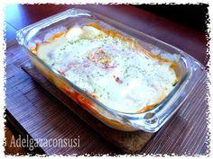 Recetas Light - Adelgazaconsusi: Lasaña de calabacín, jamón y queso.