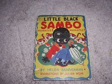 LITTLE BLACK SAMBO (Animated) by Helen Bannerman