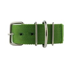 MEIKAI 2 Inch Adjustable Heavy Duty Tough Nylon Classic Dog Collar with Stainless Steel Metal Buckle for Large DogGreen *** Click image for more details.Note:It is affiliate link to Amazon.