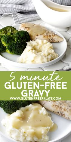 Gluten Free Meals 94159 Gluten-Free Gravy in five minutes! This recipe for Five Minute Gluten-Free Gravy is a GAME-CHANGER. Everybody needs a good gluten-free gravy recipe, right? The easier it is, the better and this one is so easy it's ready in no time. Gluten Free Recipes For Dinner, Gf Recipes, Dairy Free Recipes, Dinner Recipes, Cooking Recipes, Healthy Recipes, Recipes For One, Gluten Free Dinners, Gluten Free Recipes Videos
