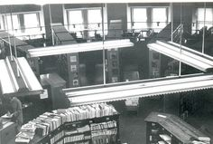 Balcony at Carnegie Library