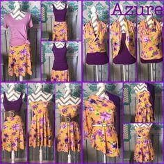 Azure is SO versatile. #LLR #LulaRoe #azure #popupboutique #freeclothes #leggings #leggingsarepants  - lularoelynnpridgen