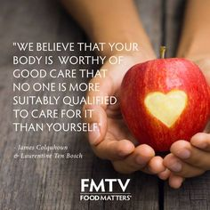 Nobody is more qualified to look after your body than you! www.fmtv.com #FMTV