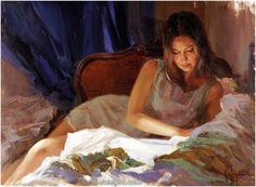 """Unforgettable Girl"" (2012) by Vladimir Volegov."