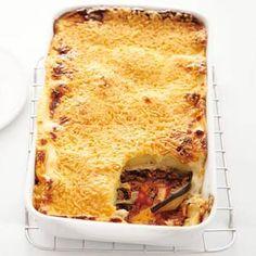 Recept - Moussaka - Allerhande Lamb Recipes, Greek Recipes, Cooking Recipes, Musaka, Rice Side Dishes, Lamb Burgers, Yummy Food, Tasty, English Food