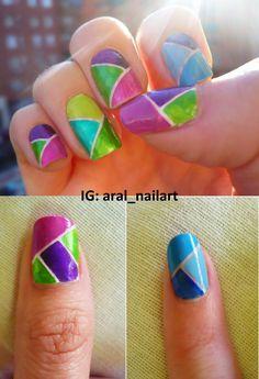 Mosaic manicure
