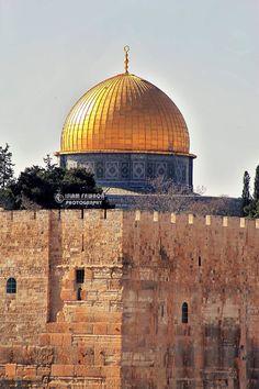 Dome Of The Rock, Temple Mount, Arab World, Islamic Paintings, Madina, Holy Land, Historical Photos, Taj Mahal, Beautiful Places