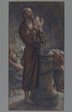 Good Friday Morning: Jesus in Prison (Le matin Vendredi Saint: Jésus en prison) : James Tissot : Free Download & Streaming : Internet Archive