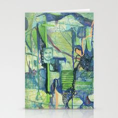 Stationery Cards by Liz Nehdi. Free worldwide shipping through March 9 with this link: http://society6.com/LizNehdi?promo=efd5f6