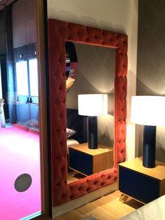 Espejo de Grandes dimensiones tapizados