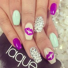 Nails by: Laque' Nail Bar x3 I love the designs... maybe different colors