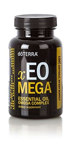 doTERRA xEO Mega Essential Oil Omega Complex is a unique formula of CPTG Certified Pure Therapeutic Grade® essential oils and a proprietary blend of marine and land-sourced omega fatty acids. Omega fatty acids help support joint, cardiovascular, and brain health, and support healthy immune function