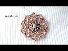 Crochet Beaded Necklace, Seed Bead Necklace, Beaded Earrings, Seed Beads, Beaded Jewelry, Beaded Necklaces, Necklace Tutorial, Black Earrings, Bead Art