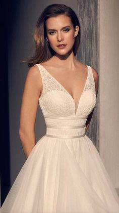 Courtesy of Mikaella Wedding Dresses #weddingdress