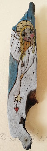 Burtonesque Angel - Joyce van der Lely a.k.a. Miss Pippi