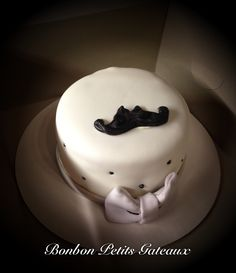 Movember cake 2nd version Movember, Buttercream Cake, Cakes, Desserts, Food, Tailgate Desserts, Meal, Cake, Dessert