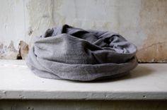 stone scarf organic cotton hemp jersey naturally hand by enhabiten