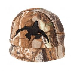 Rig  em Right Reversible Fleece Beanie - Camo Chocolate Brown Duck Hunting  Gear 1af425ed8851