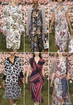 The world's leading online textile design studio for print, pattern and trend forecasting Womens Fashion For Work, New Fashion, Trendy Fashion, Fashion Show, Fashion Outfits, Fashion Design, Fashion Women, Fashion 2018, Fall Fashion