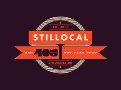 Dribbble - Stillocal Final Logo by Sean Ball