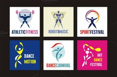 I just released 6 People Logo Signs on Creative Market.