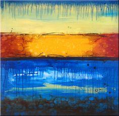 "Zatista SPIRIT #45 Painting, Acrylic on Canvas, 30.0""h x 30.0""w $229"