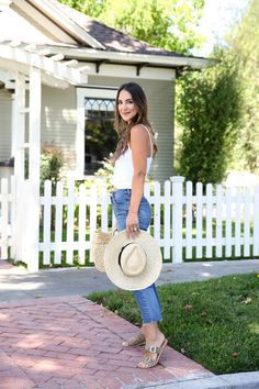 Styling Cropped Flare Denim