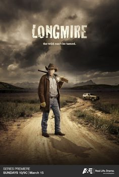 Great show, to bad someone at A&E felt the need to cancel it. In steps Netflix and like magic, we got another season It sure would be nice to see season 6 and possibly 7 (and beyond). Thanks Netflix! Longmire Tv Series, Walt Longmire, Great Tv Shows, Old Tv Shows, Real Tv, Series Premiere, Book Tv, Movies Showing, Good Movies