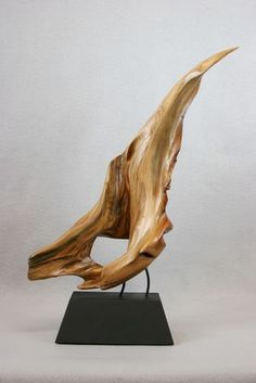 Click to Close Driftwood Sculpture, Driftwood Art, Sculpture Art, Driftwood Projects, Organic Art, Wood Stone, Tree Art, Artisanal, Wood Carving