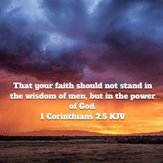 1 Corinthians 2:5 KJV