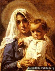 Elizabeth Nourse - Mother and Child