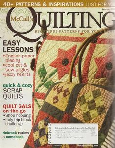 McCall's Quilting Magazine, February 2009 (Volume « Library User Group