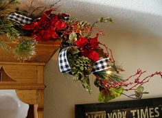 black, red and white Christmas ideas