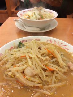 野菜たっぷり味噌#日高屋#渋谷店
