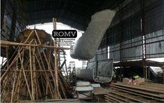 CATAMARAN demi hull assembly process