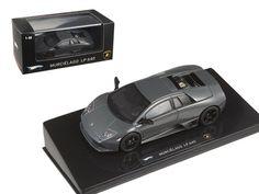 Lamborghini Murcielago LP 640 Gray Elite Edition 1/43 Diecast Model Car by Hotwheels