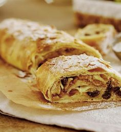 Strudel, Apple Pie, Cheesecake, Deserts, Food And Drink, Sweets, Baking, Ethnic Recipes, Fine Dining
