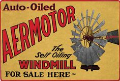 windmill sign