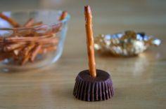 Little broomsticks! So easy.