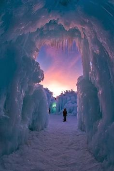 Ice Castle, Utah, US