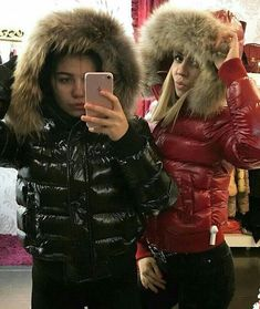 Down Puffer Coat, Puffy Jacket, Other Outfits, Fur Collars, Parka, Cool Girl, Perfect Eyelashes, Fur Coat, Jackets For Women