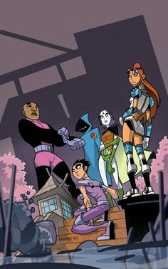 Swapped Teen Titans
