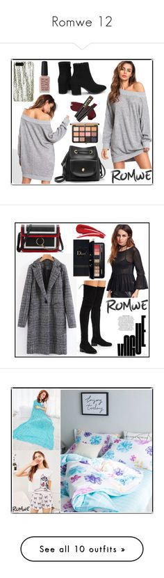 """""""Romwe 12"""" by b-necka ❤ liked on Polyvore featuring L.A. Girl, Kester Black, romwe, Estée Lauder, Missguided, Sisley, Maybelline, NIKE, CamelBak and Beats by Dr. Dre"""