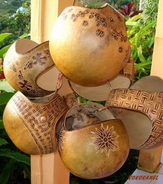 gourd baskets